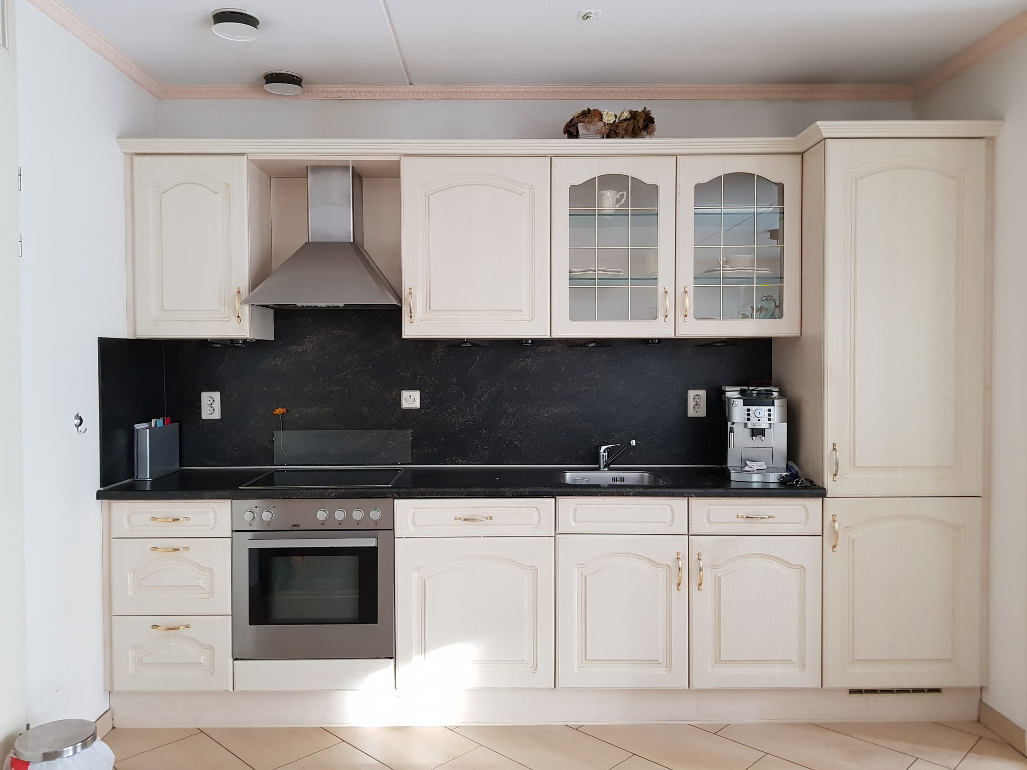 brocante keuken met eiland : Landelijke Rechte Keuken 3 15 Meter Incl Alle Apparatuur
